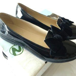 Naturino Size 36 US 4.5 Leather Bow Flats